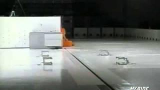 Краш тест Hyundai Accent 2007 (IIHS)