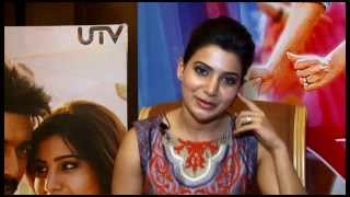 Actress Samantha Interview @ Anjaan Movie Experience