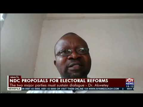 Electoral reforms: The political parties must sit down and talk - Dr. Kwame Asah Asante advises