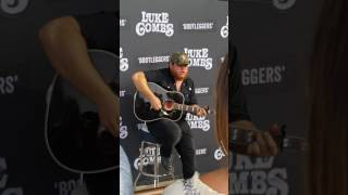 Luke combs private acoustic