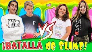Ruleta de SLIME CHICOS VS CHICAS con Ariann Music y César Abril. ¡¡VOTA TU Slime FAVORITO!!