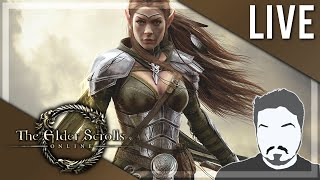DEMON HUNTER/TAMER BUILD! - Elder Scrolls Online LIVE Play 4  (PC | Livestream)