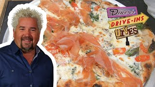 Guy Fieri Recreates a Burrata Truffle Pizza at Home | Diners, Drive-ins and Dives