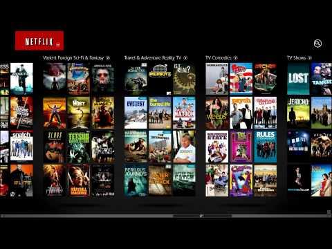 Windows 8 App   Netflix