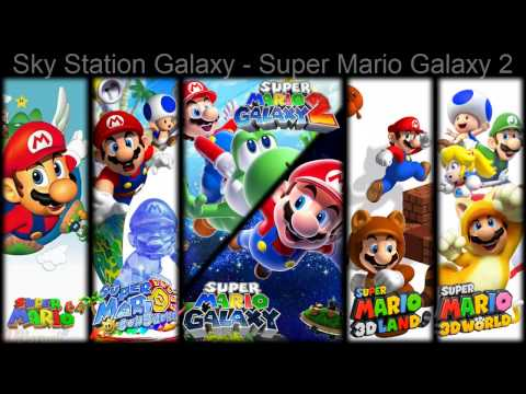 Mario 3D Games OST  All First World Themes