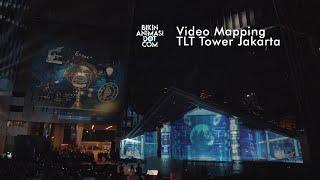 Video Mapping Telkom Landmark Tower Jakarta