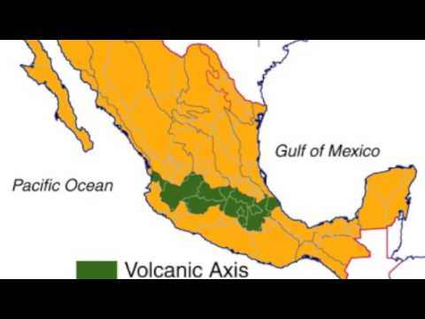 Volcanoes and Plate Tectonics of Mexico