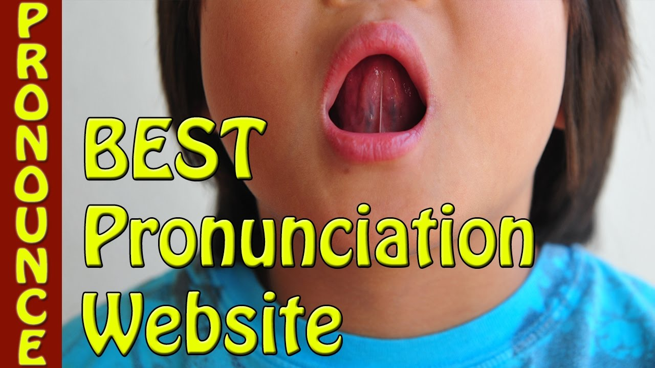 Pronunciation Website - Learn how to pronounce any word in American and  British English