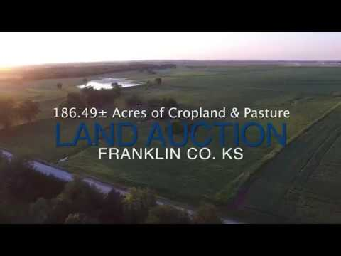 186.49± Acres of Farmland & Pasture near Ottawa, Kansas