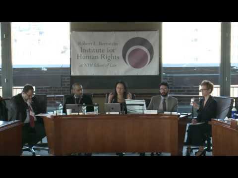 Tyranny of the Algorithm? Predictive Analytics & Human Rights: NYU Alumni Panel