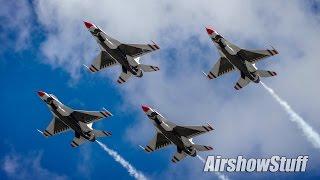 USAF Thunderbirds 2016 High Show
