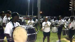 Dillon high marching to the stands 2011