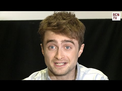 Daniel Radcliffe Interview - American Accents & Movie Nudity