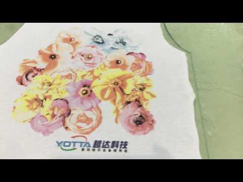 YUEDA t-shirt printer 3D effect direct to garment printer textile printing machine