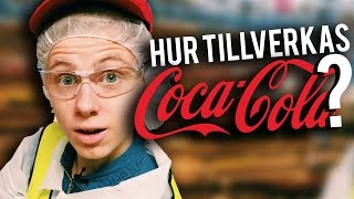 BESÖKER COCA-COLA-FABRIKEN