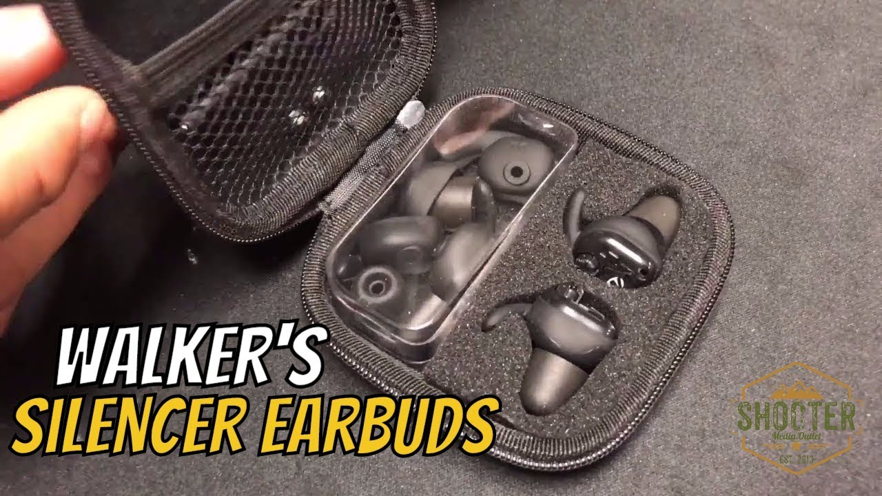 d6fa3c261eb Walker's Silencer Earbuds (nrr 25db) Review - YouTube