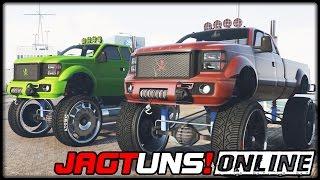 GTA 5 JAGT UNS! #01 | ONLINE | Sandking HD Monster Dually - Deutsch - Grand Theft Auto 5 CHASE US