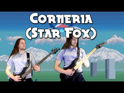Corneria (Star Fox) on guitar - Metal/Rock Remix Version - Stage 1 Music First Level SNES