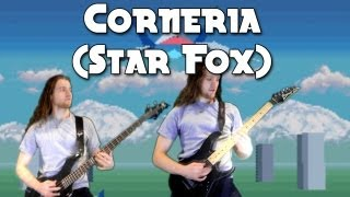Corneria (Star Fox) on guitar - Metal/Rock Remix Version - Stage 1 Music First Level SNES