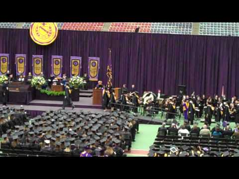 University of Northern Iowa: 2010 Grad Student Morning Commencement