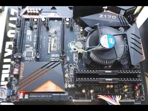 ASRock Z170 - Intel Nidec/Delta Fan