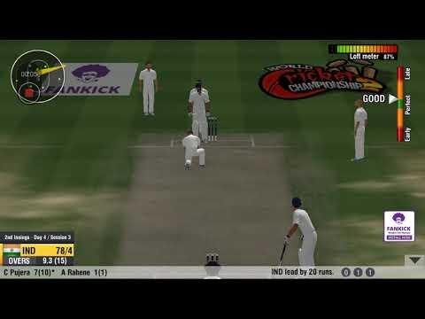 Wcc2 test match