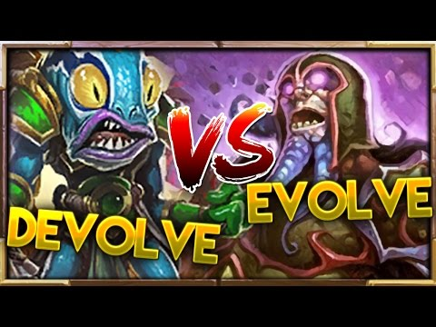 Best of Evolve & Devolve! | Hearthstone Gadgetzan