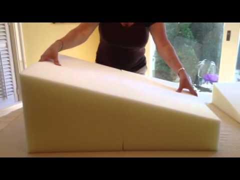Ar Pillow Foam Wedge Mattress System Youtube