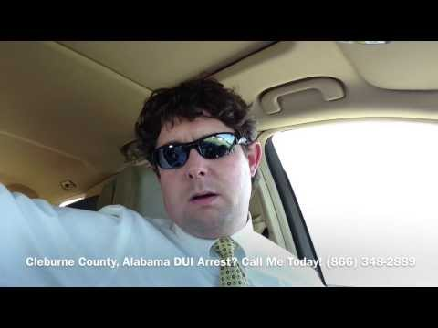 Cleburne County, Alabama DUI Lawyer - Attorney for Cleburne County, AL DUI Arrest