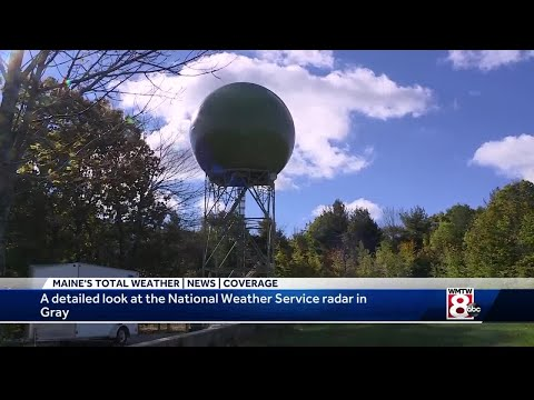 A Look At The National Weather Service Radar