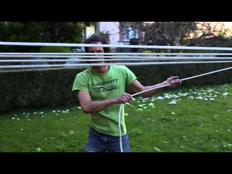 How to use the Slacktivity Longline pulley-system