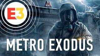 Поиграли в Metro: Exodus!