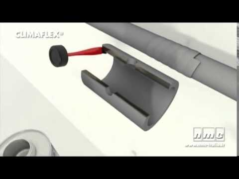 How to Fit Climaflex pipe insulation, conserve energy and frost protection