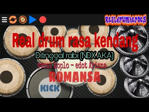 DITINGGAL RABI(ndx A.k.a)Versi Koplo - Edot Arisna - Romansa - Real Drum Cover