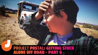 homepage tile video photo for Project POStal: Getting Stuck Alone Off Road - Part 6