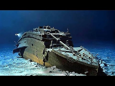 THE RMS TITANIC WRECKAGE - YouTube