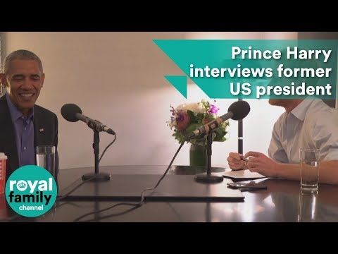 When Harry met Barack: Prince interviews former US president