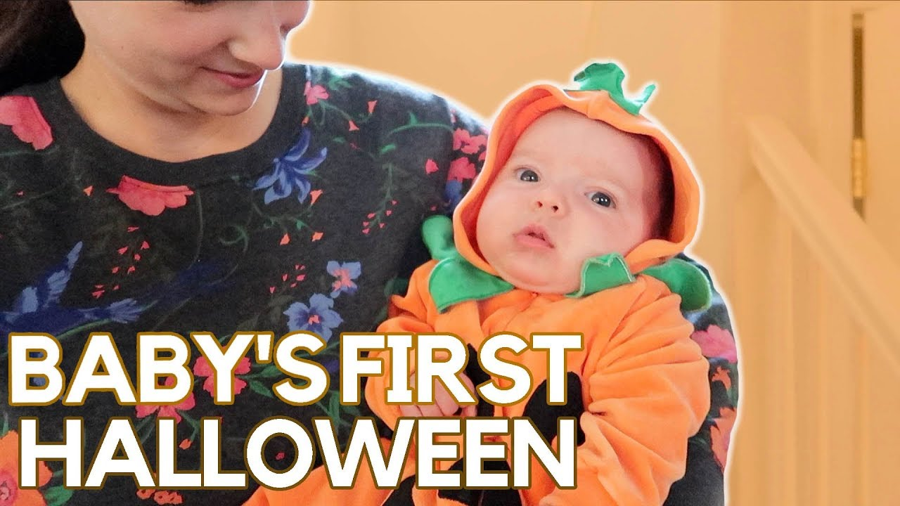 baby's first halloween! - youtube