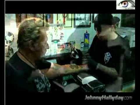 Tatouage De Johnny Hallyday Youtube