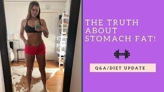 Q&A: Losing stomach fat & diet update #2