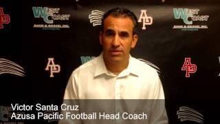 Azusa Pacific Football 2014: Preseason Press Conference