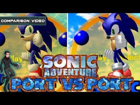 Port vs Port | Sonic Adventure | Dreamcast vs Gamecube | Kelphelp