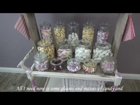 Vintage Wedding Candy Bar selber bauen – Teil 2