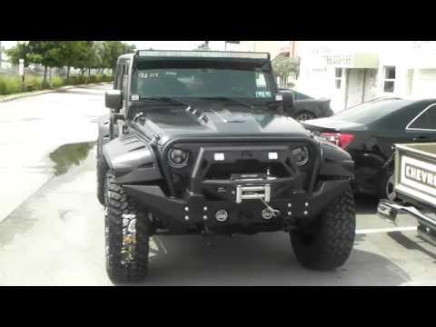 6bbe2d3ec83 877-544-8473 20 Inch Fuel Assault Rims Customi Jeep Bumper HID Fender Flares