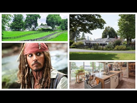 ★ Johnny Depp's Kentucky Horse Farm Tour | Versailles Road | 5,944-square-foot | HD