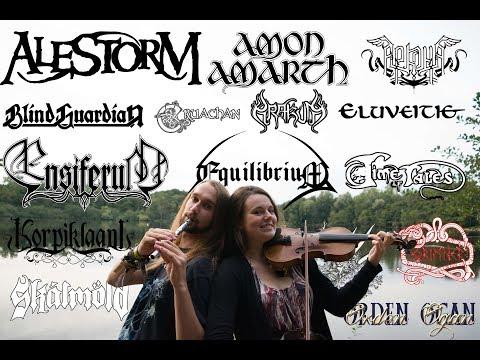 15 folk metal bands in 5 minutes (Acoustic Medley) Mp3