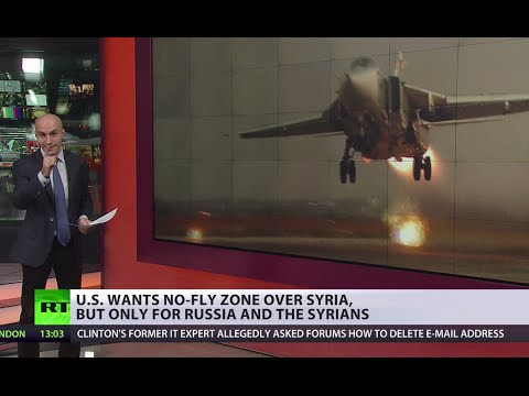 We fly - you don't: US wants no-fly zone over Syria, but only for Russia & the Syrians