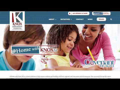 2020 Be More Award - Knox Education Foundation