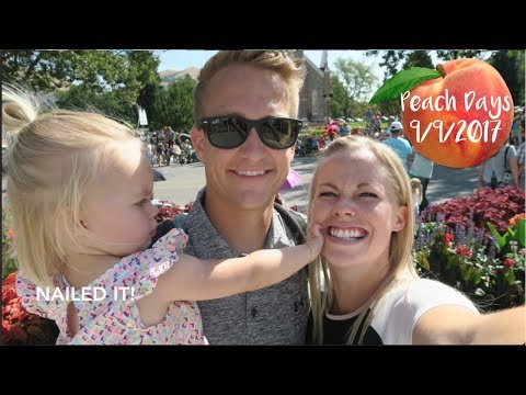 Peach Days in Brigham City, Ut- Family Vlog