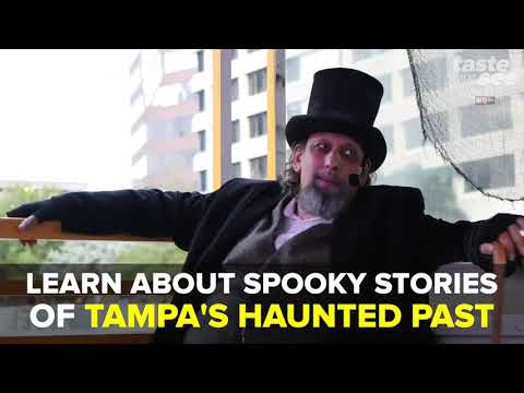 Take A Haunted Boat Tour Down Hillsborough River | Taste And See Tampa Bay